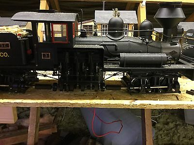 G Scale Engine Two Truck Shay Bachman
