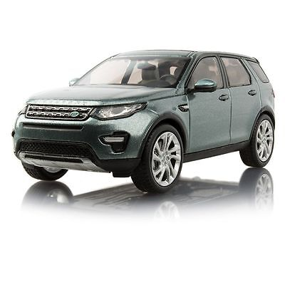 Genuine Land Rover Discovery Sport 1:43 Scale Model in Scotia Grey