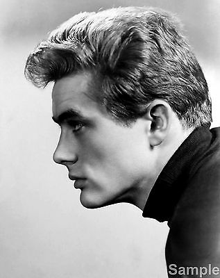James Dean 65 Film Actor Glossy Black & White Photo Picture Print A4