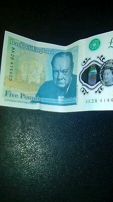 bank of england 5 note