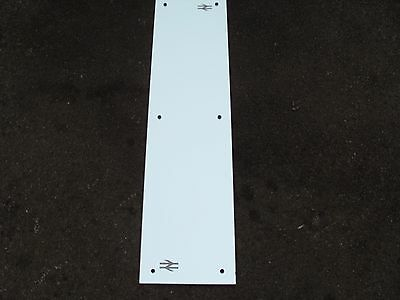 """Vintage BR British Rail Track And Points Logo Wall Mirror  40"""" x 10"""""""