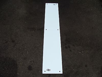 """Vintage BR British Rail Track And Points Logo Wall Mirror  60"""" x 10"""""""
