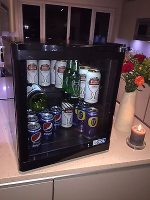 Table Top Display Mini Fridge 48 Litre Beer, Cans or Wine Chiller