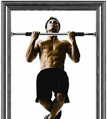 Doorway Pull-Up, Sit-Ups, Push Up Multi Combo Bar Door Gym Exercise Body Chin