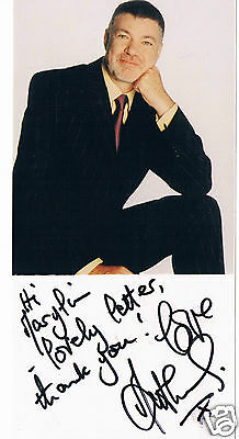 Matthew Kelly  Television Actor Presenter  Hand Signed Photograph 8 x 4