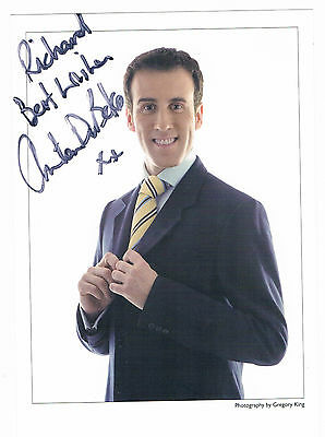 Anton Du Beke - Stricly Come dancing - Dancer - Signed Photograph 8 x 6