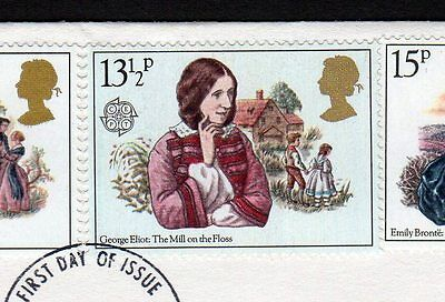 1980 Authoresses - unlisted sg1126var on cover FDC- Scarce/ rare item