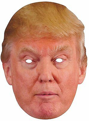 Donald Trump Face Costume Mask Party masquerade halloween Prop USA Seller NEW