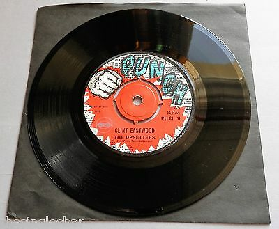 """The Upsetters - Clint Eastwood UK 1969 Punch 7"""" Single"""