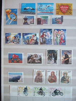 POLAND MODERN MINT MNH SELECTION OF STAMPS SETS & 1 x M/S MAINLY 2003