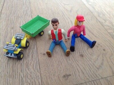 Tractor Tom Matt, Fi, And Die Cast Buzz See Description And Photos