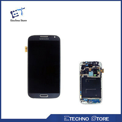 LCD Display Touch Screen con Frame Per Samsung Galaxy S4  i9505 i9515