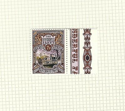 Discworld Stamp 2011 7 Pence Wonderful Fanny Retired Riverboat River Boat Snuff