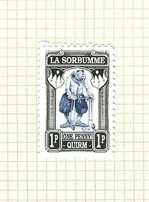 Discworld Stamp 2016 Limited Edition La Sorbumme Fool Clown Walker Rare Retired