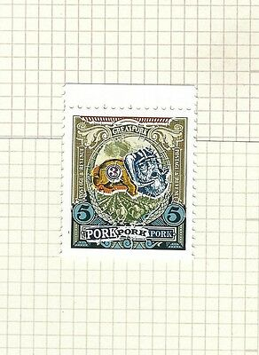 Discworld Stamp 2013 Death by Pork Igor Emberella Rare Retired Stiched Thtitched