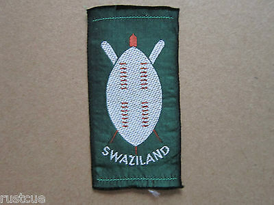 Swaziland Woven Cloth Patch Badge Boy Scouts Scouting