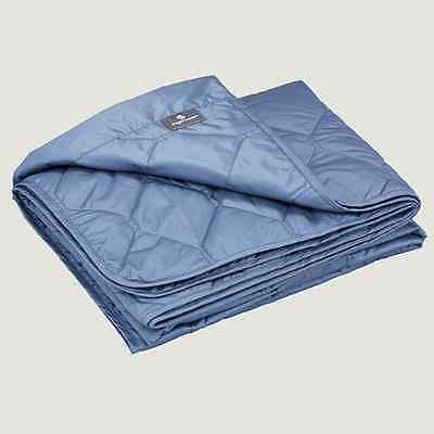 Eagle Creek Compact Travel Throw Blue Mist SAM
