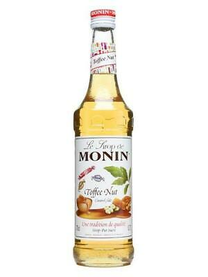 Monin Premium Coffee Syrup - 70cl - Toffee Nut Flavour