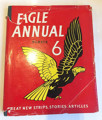 Vintage Eagle Annual Number 6 1956 with dust jacket