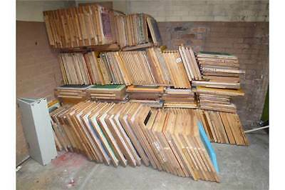 Used Screen Printing Wooden Frame With Mesh ( 200+ Of Various Sizes Available)