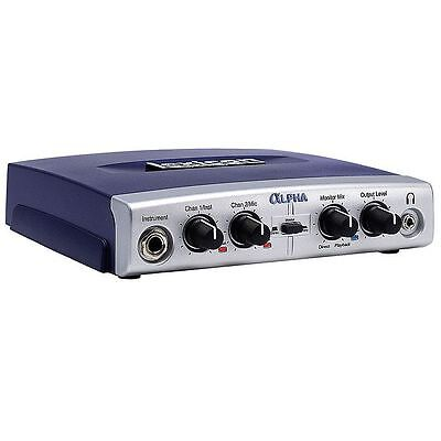 Lexicon Alpha 2x2x2 Desktop Recording Studio Audio Interface + Steinberg Cuba...