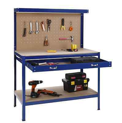 Workbench Garage shed Tools Peg Board Sturdy Tool Organsier Brand New Free Post