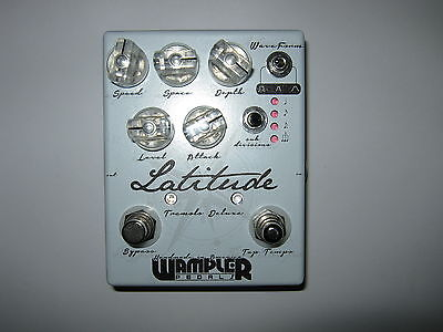 Wampler Latitude Deluxe Tremolo (made in USA) - WORLDWIDE SHIPPING