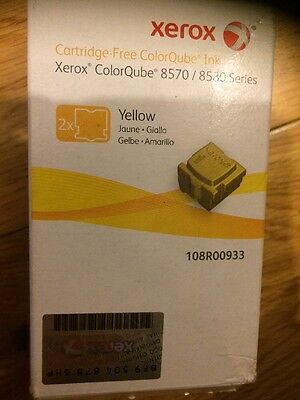 Xerox ColorQube 8570 Ink Stick, Yellow (2 Sticks, 4400 Pages)