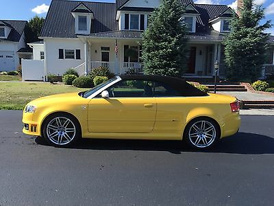 2008 Audi RS4 cabriolet 2008 Audi RS4 Cabriolet less than 12,000 miles!