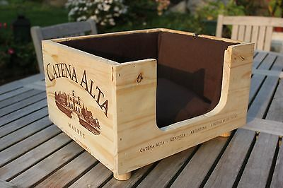 Wooden Cat Box Bed Luxury Handcrafted