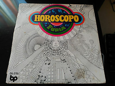 Single Furia - Horoscopo - Bp Spain 1972 Vg+ Sin Desplegable