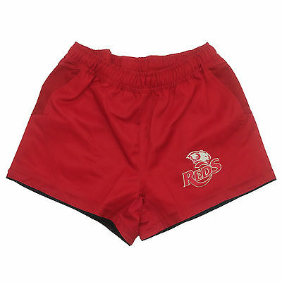 BLK Queensland Reds On Field Shorts Adults