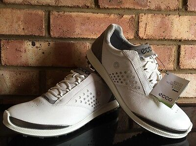 ECCO Women's Golf Shoes Biom Hybrid White/Buffed Silver EU39 UK 6 Clearance