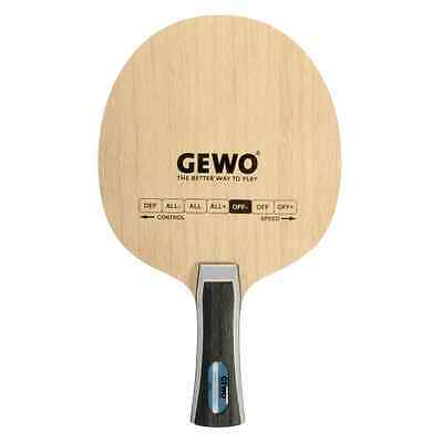 Table Tennis | GEWO Power Control Blade (Flared Handle)