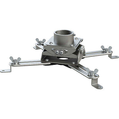 Universal Low Profile Projector Mount Head Only - Silver, Lot of 1