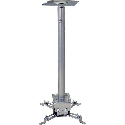 Universal Projector Mount, 75 lbs Capacity, Silver