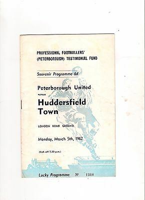 1962  Peterborough v Huddersfield--------Roy Jacobs Testimonial