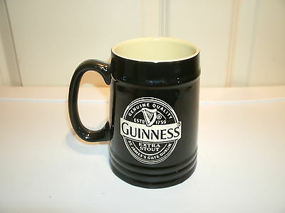 Guinness Extra Stout ceramic Beer Stein Mug