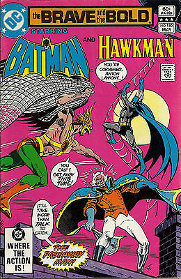 The Brave and the Bold #186 (May 1982, DC) FN/VF, Batman & Hawkman