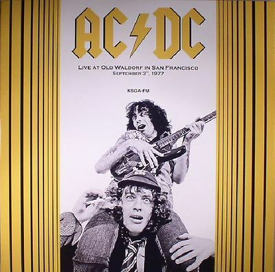 AC/DC - Live At Old Waldorf In San Francisco September 3, 1977 (reissue) - LP
