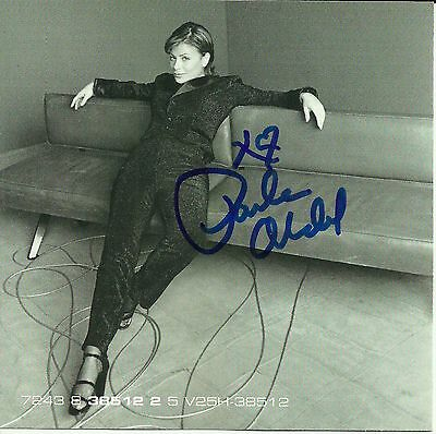 Paula Abdul signed Crazy Cool/ The Choice Is Yours cd single