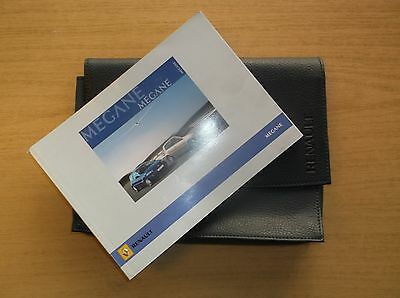 2006 Renault Megane Owners Handbook / Manual With Black Renault Case