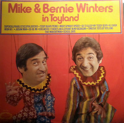 Mike & Bernie Winters  In Toyland Signed Lp Rare