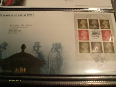 Gb Prestige Booklet First Day Cover 18/08/2009 Treasures Of The Archive Exc Cond
