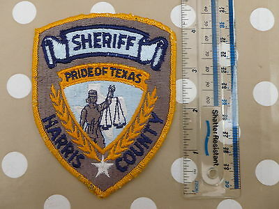 Sheriff, Harris County Badge/Patch
