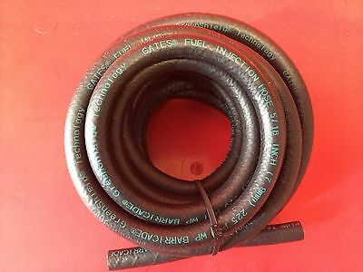 """NEW USA Gates GreenShield Barricade Fuel Injection Hose 5/16 """" x 14 ft 225 PSI"""