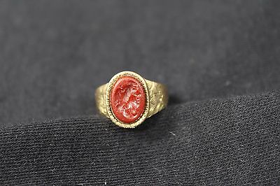 Antique Gold Ring With Cameo