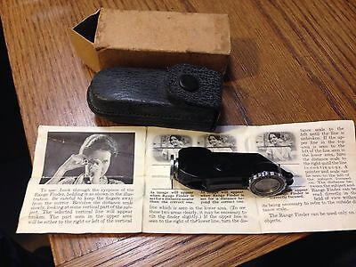 Vintage Kodak Pocket Range Finder With Case