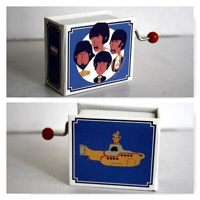 Carillon A Manovella A Libro Musica Yellow Submarine Beatles