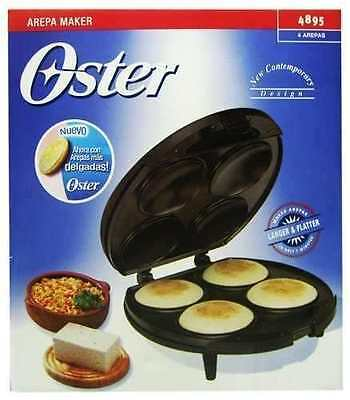 Tosty arepa maker Oster de 4 arepas in  White OFFER OFFER OFFER